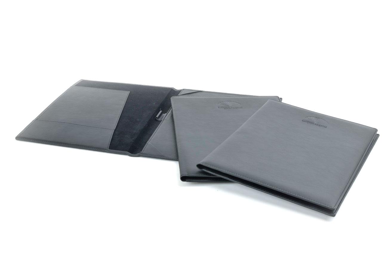 carpeta portadocumentos polipiel piel
