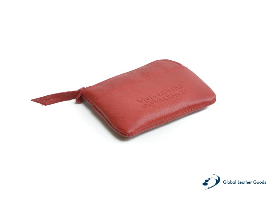 marroquinería monedero piel C global leather goods