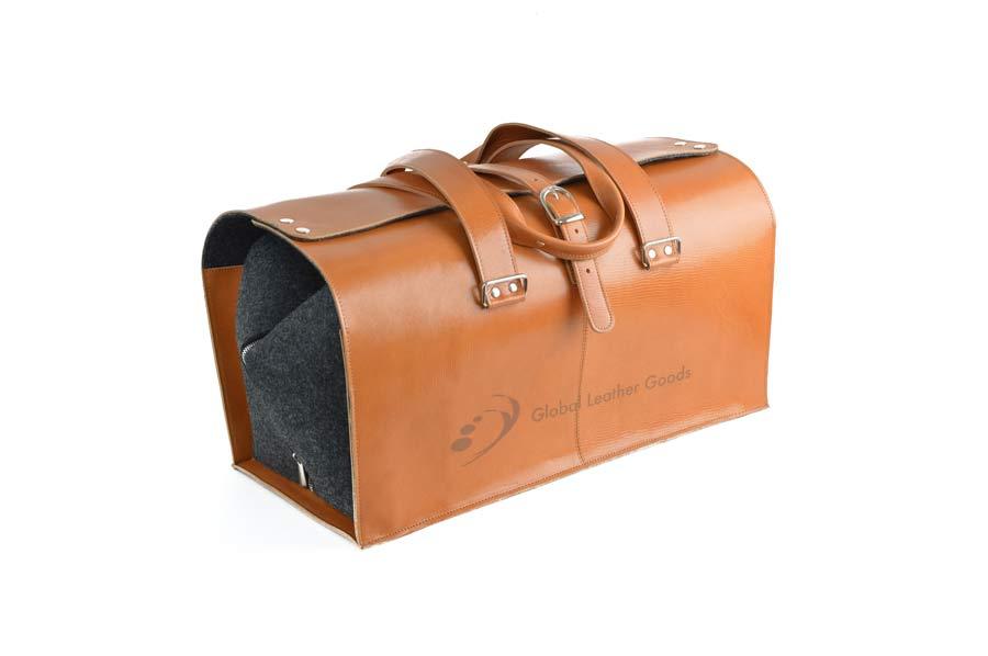 accesorios de viaje bolso de piel urban travel handbag 4011