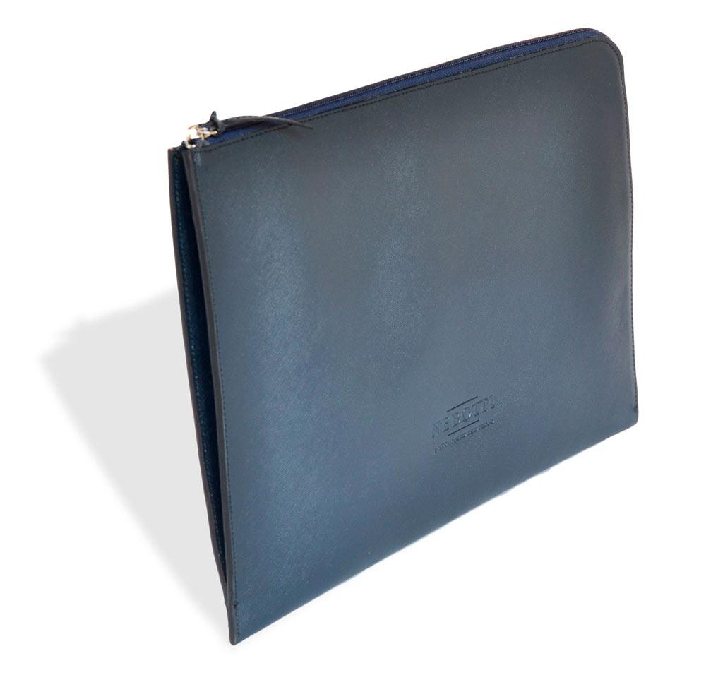 2003-london-portfolio-portadocumentos-piel-personalizado-flat-briefcase-blue