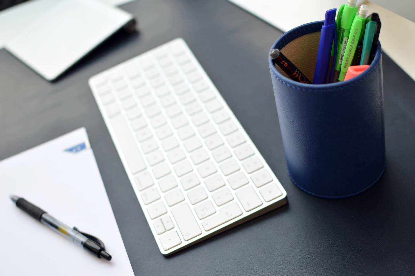 accesorios de escritorio protector de escritorio