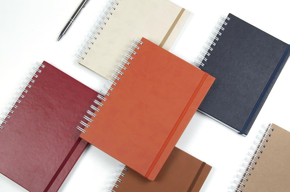 compra cuadernos corporativos WireBK