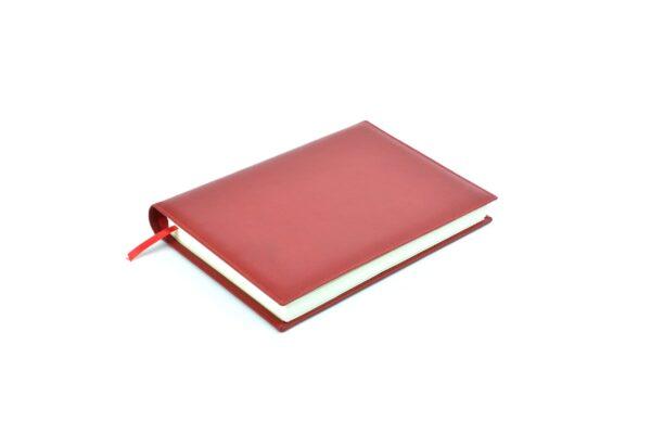 agendas 2022 personalizada diaria wire-o madras rojo
